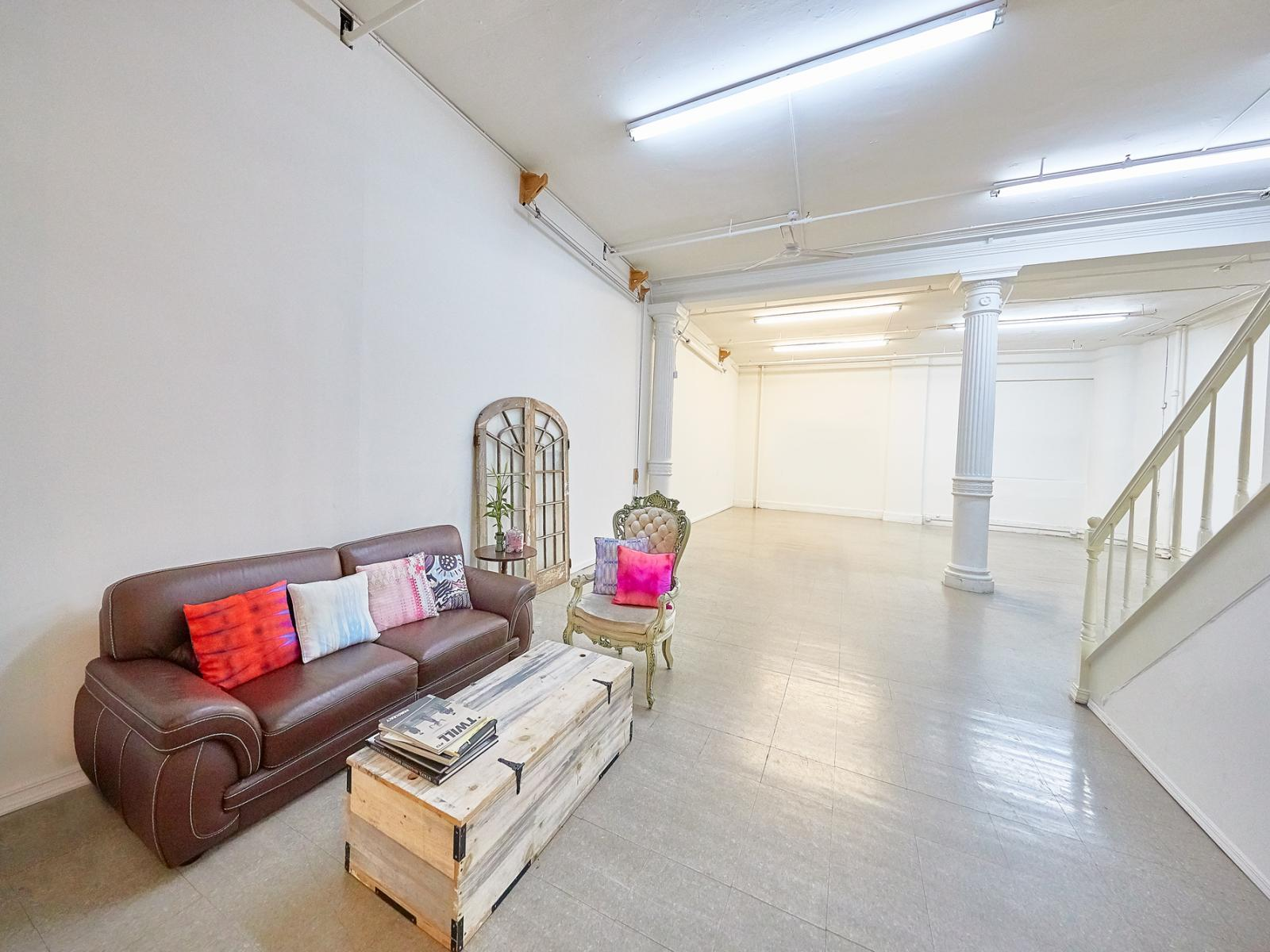 stusu midtown studio rental